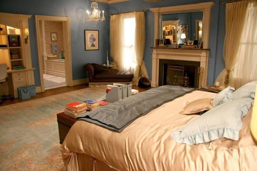 Spavaća soba Blair Waldorf sa svilenom posteljinom